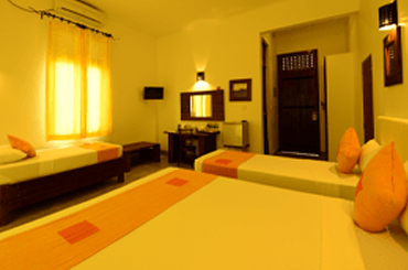 matara safari hotels rooms sri lanka - Family Room Service in Udawalwe Hotel