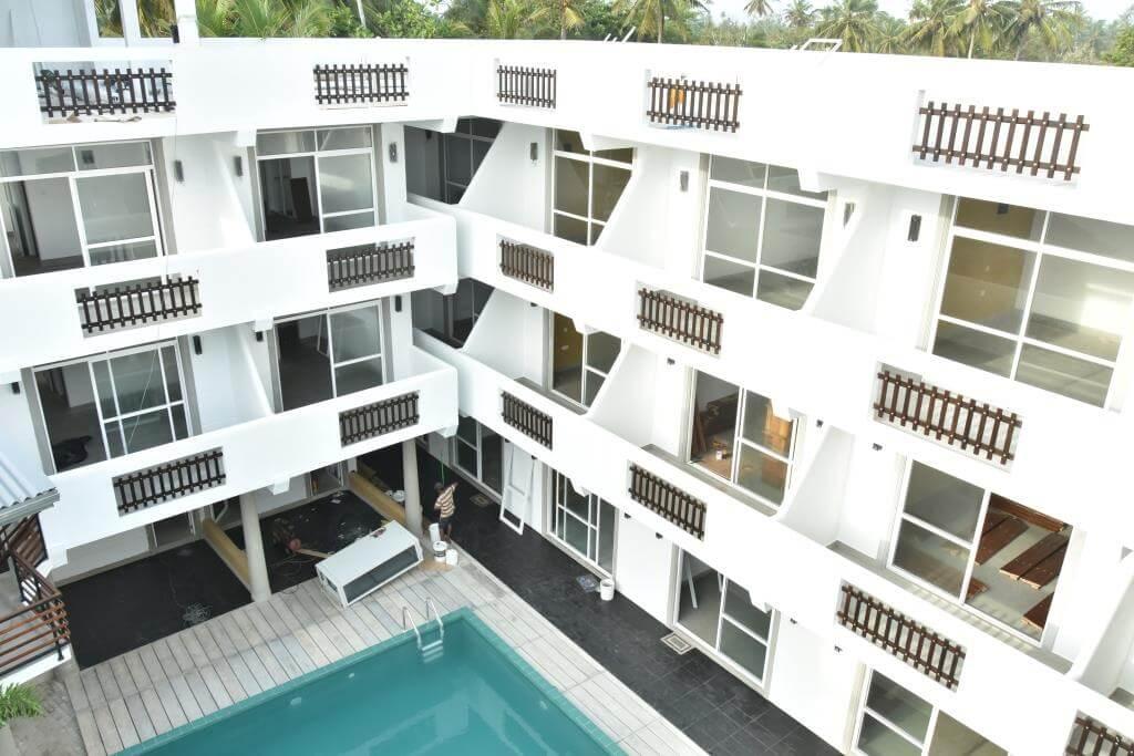 matara hotels -  - Courtyard